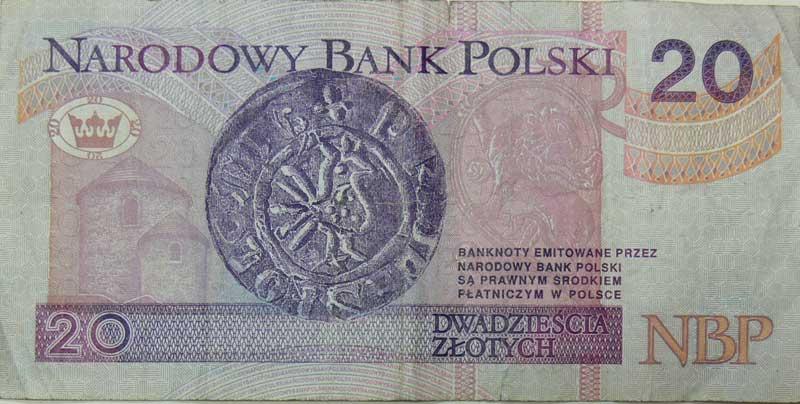 Abbildungen Polnischer Banknoten Und Münzen